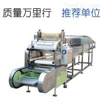全自動商用大型蒸汽式循環揭皮圓形涼皮機