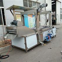 全自動電加熱小龍蝦油炸鍋油水分離油炸設備