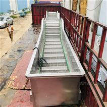不锈钢降温机食品冷却杀菌后流水线