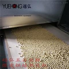 大豆杂粮微波烘焙烘烤熟化一体机械化 新品