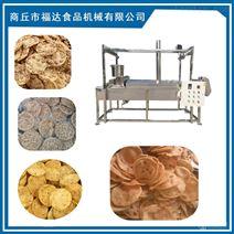 全自动花生饼机10小时油炸1000斤花生粑设备