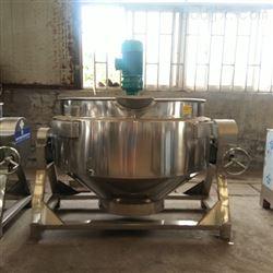 耀盛机械凉粉搅拌熬煮夹层锅
