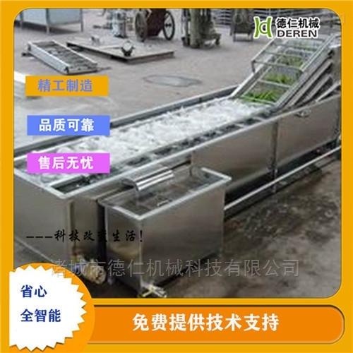 青菜加工高压喷淋气泡清洗机