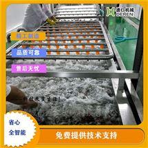 特定小龙虾加工高压喷淋气泡清洗机