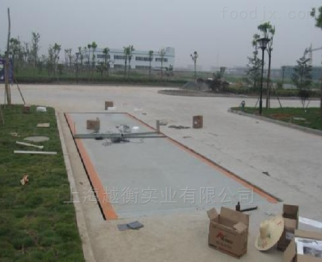 上海120吨电子地磅秤厂家