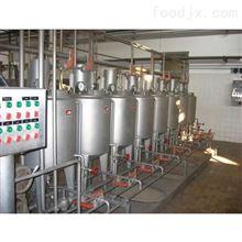 果汁饮料生产线机械设备-如何清洗
