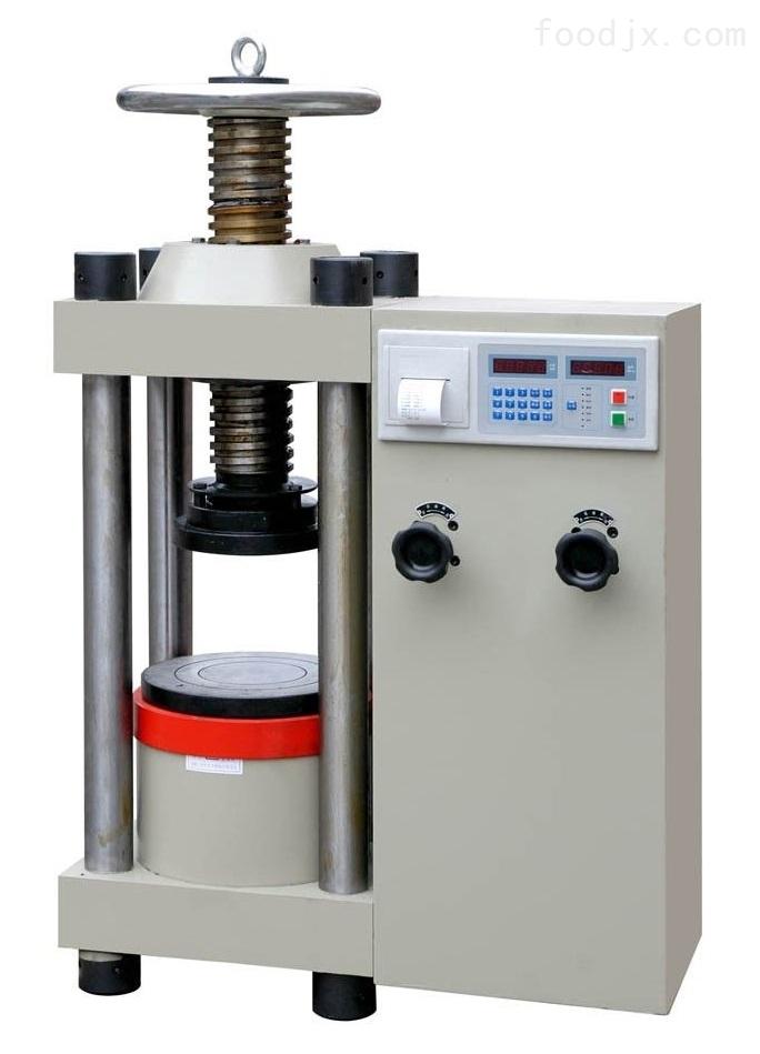TYE-2000型数显压力试验机