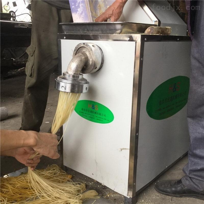 宏盛十年玉米面条机加工定制