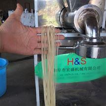 HSL-100滑嫩鲜玉米面条机生产批发