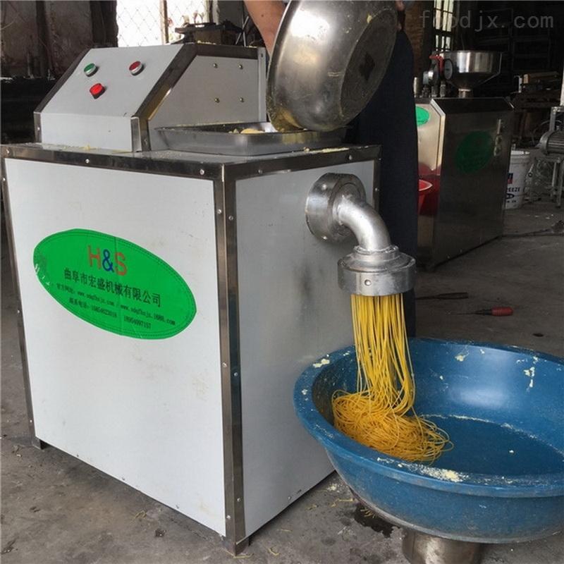 正宗东北玉米面条机技术培训