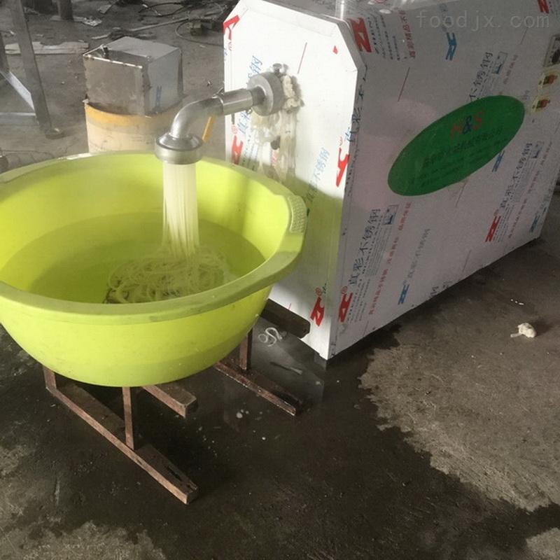 Q弹劲道米苔目机生产视频