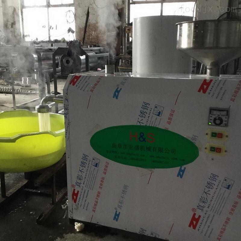 自动米筛目机生产视频