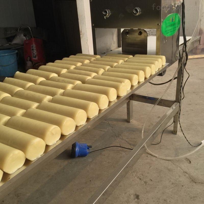 仿手工米豆腐机生产视频