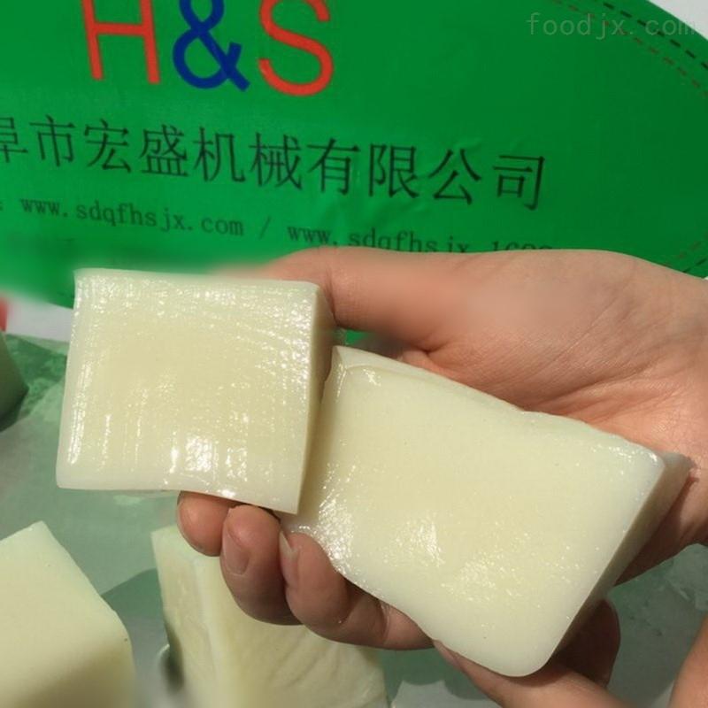 劲道弹牙米豆腐设备指导