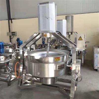 JHY500L不锈钢行星搅拌夹层锅炒锅专业炒菜机价格