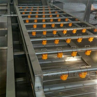 JHY2000根茎类蔬菜清洗线专业制造厂家