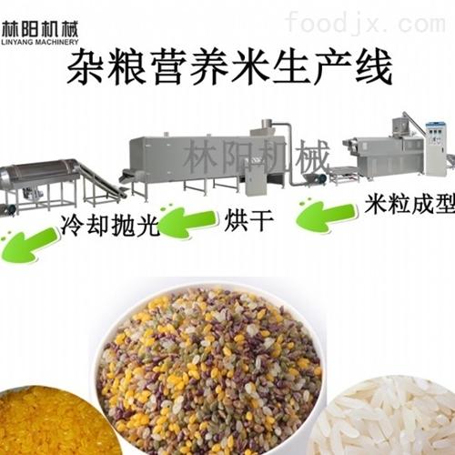 杂粮营养米生产线