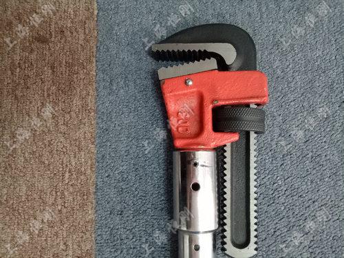 数字式手动扭矩扳手   可换管钳头