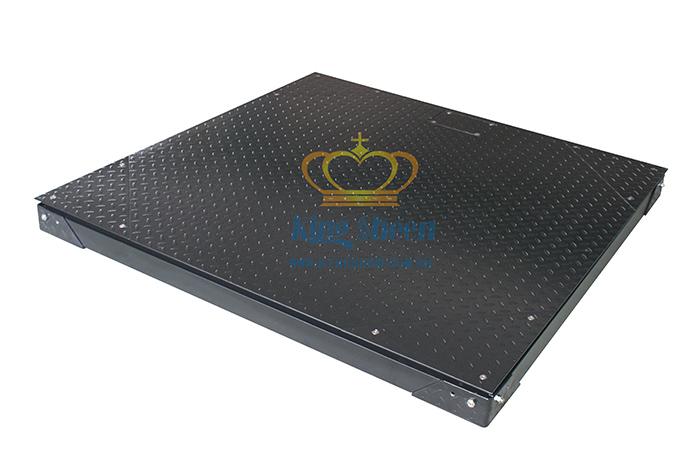1T防滑双层碳钢电子磅秤