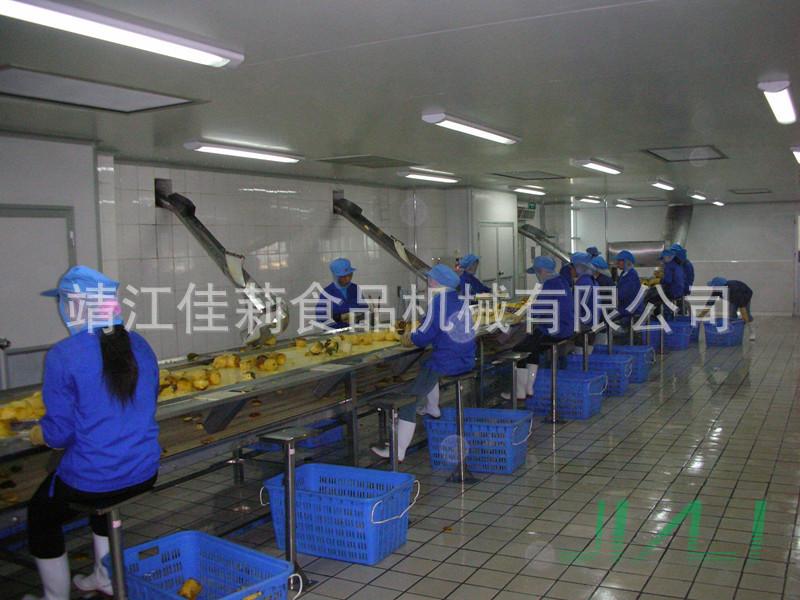 菠萝前处理生产线设备
